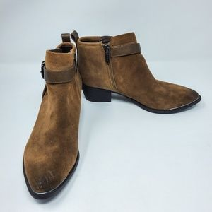 Sam Edelman Pointed Toe Harlow Ankle Booties S 6.5
